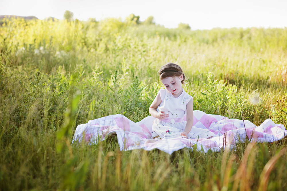 Cute Tea Party Themed Photo Session