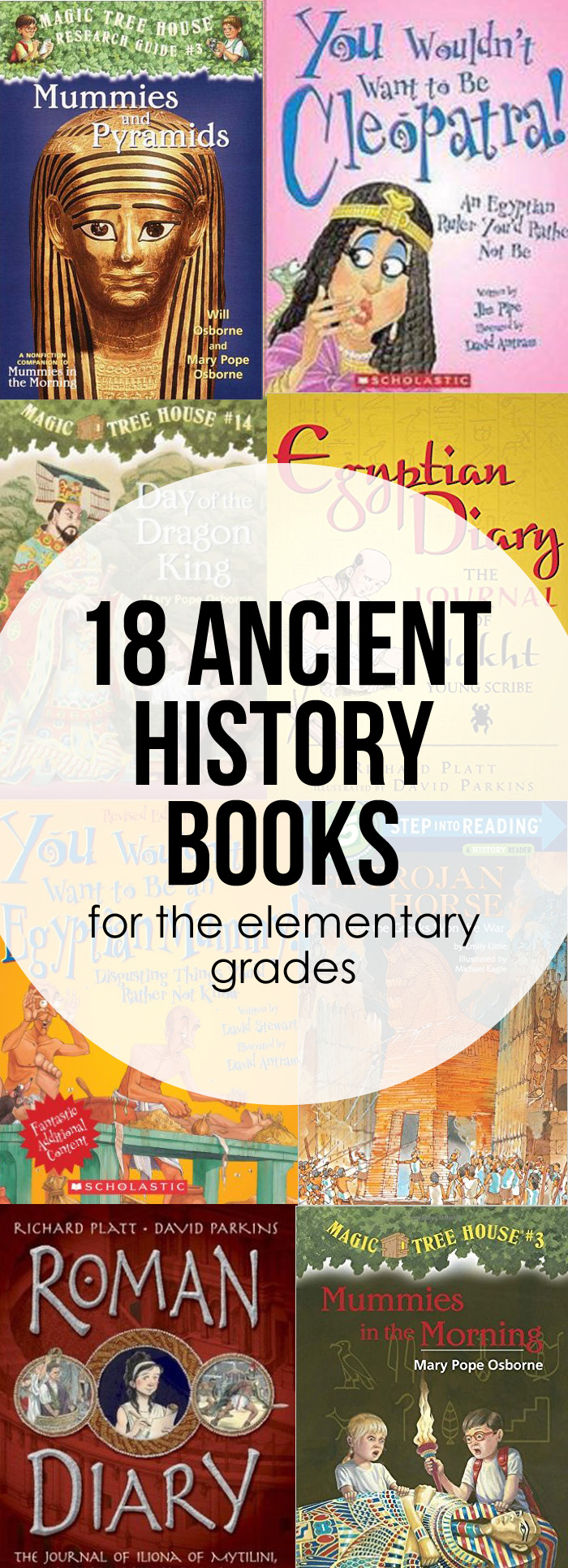 Ancient History Books for Elementary