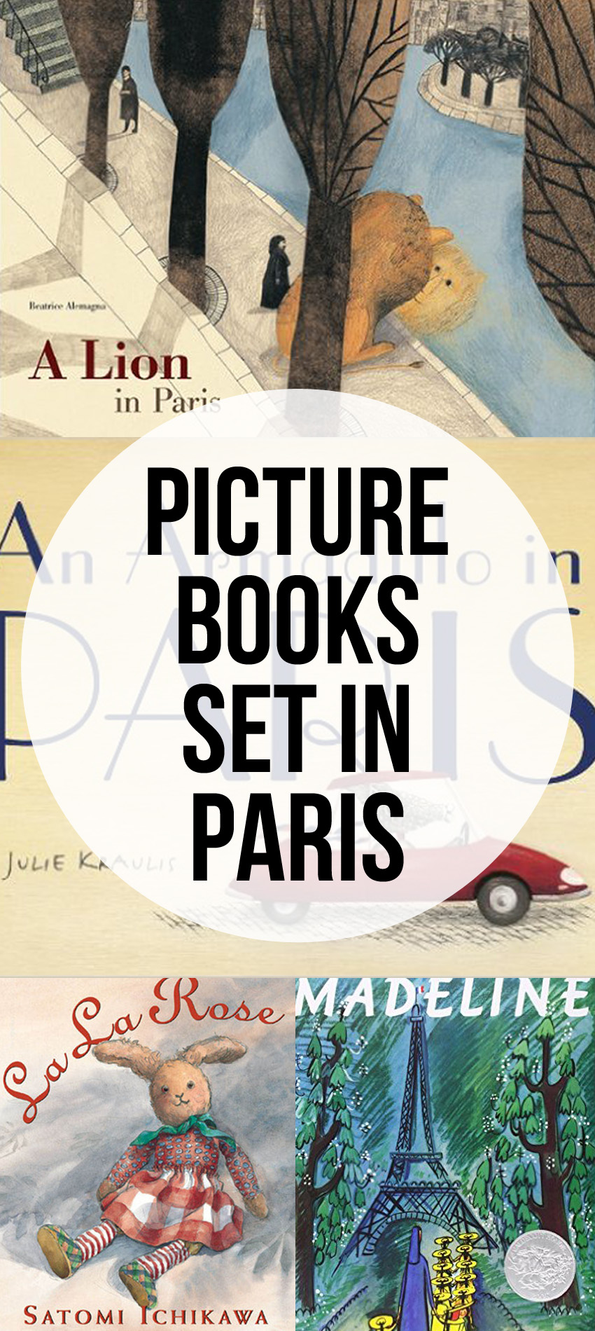 Picture Books Set in Paris