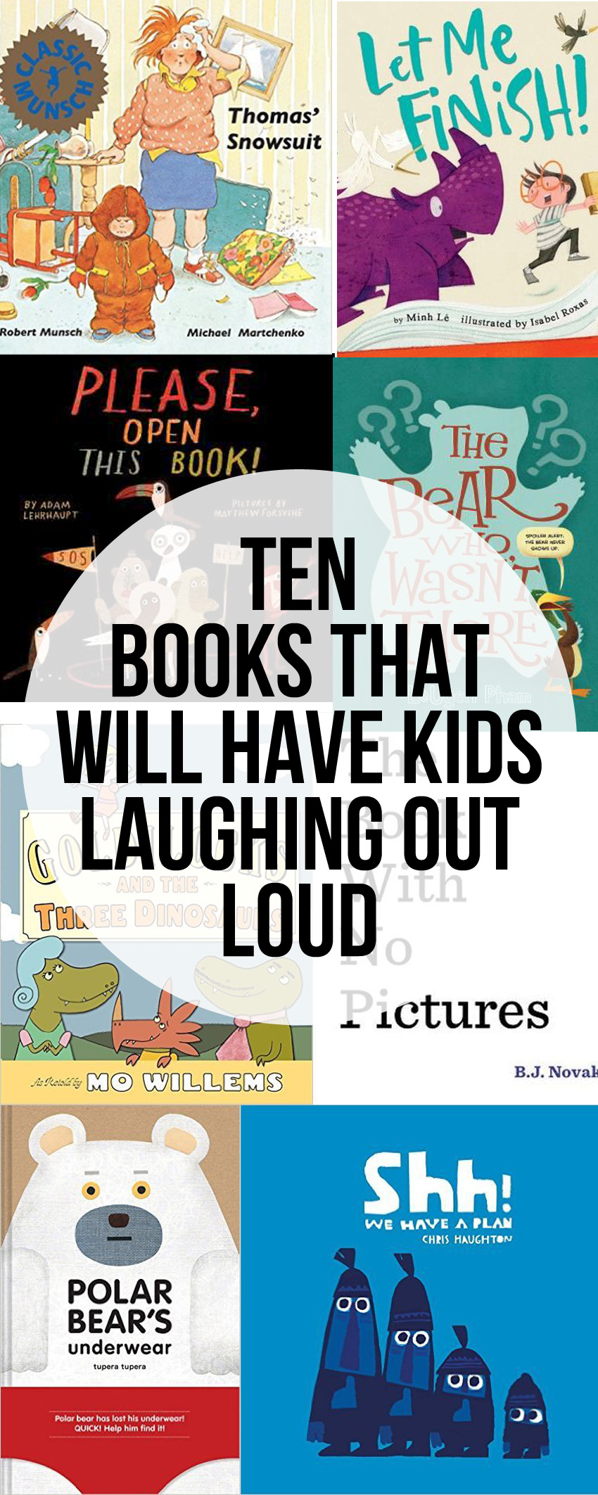 Funny Picture Books That Will Have Kid Laughing Out Loud