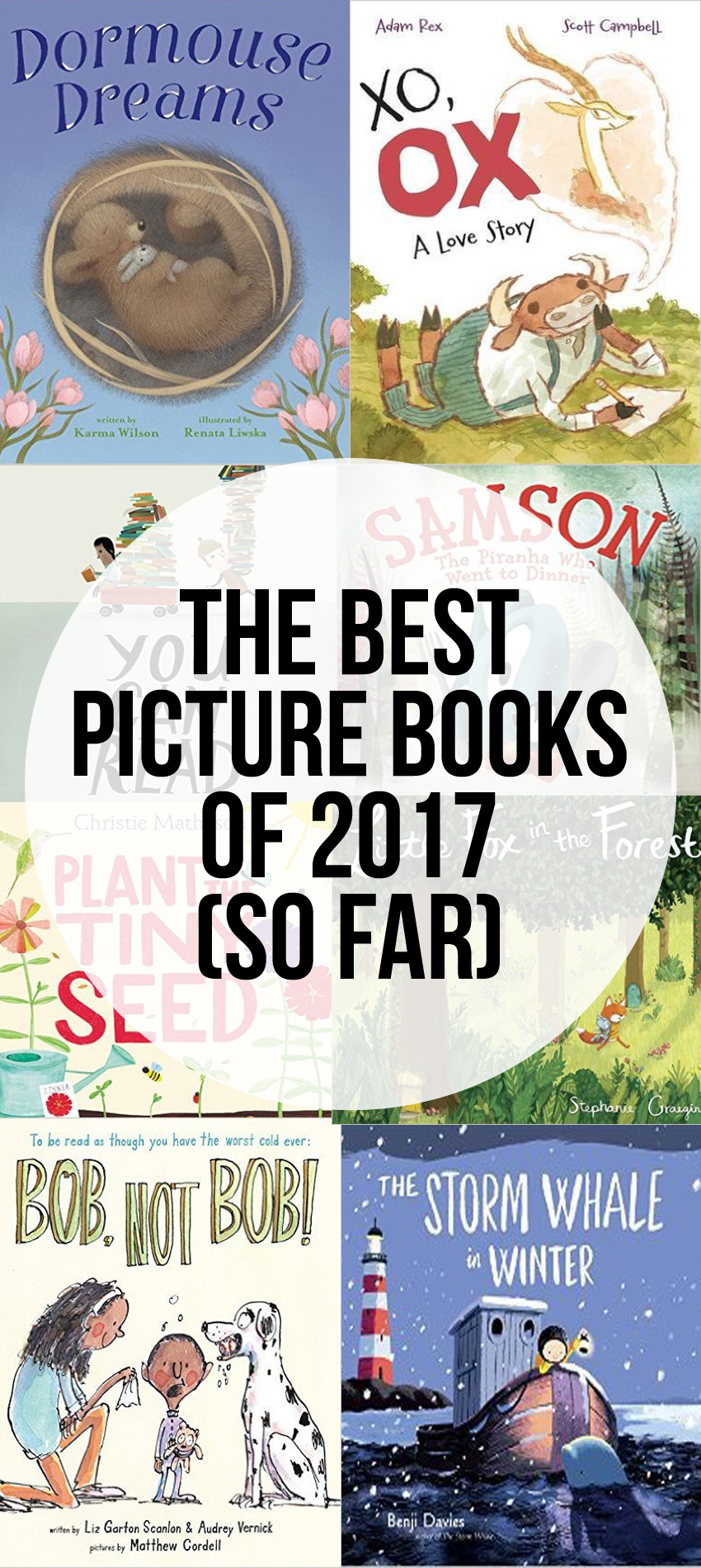 The Best Books of 2017 so far (picture books and chapter books)