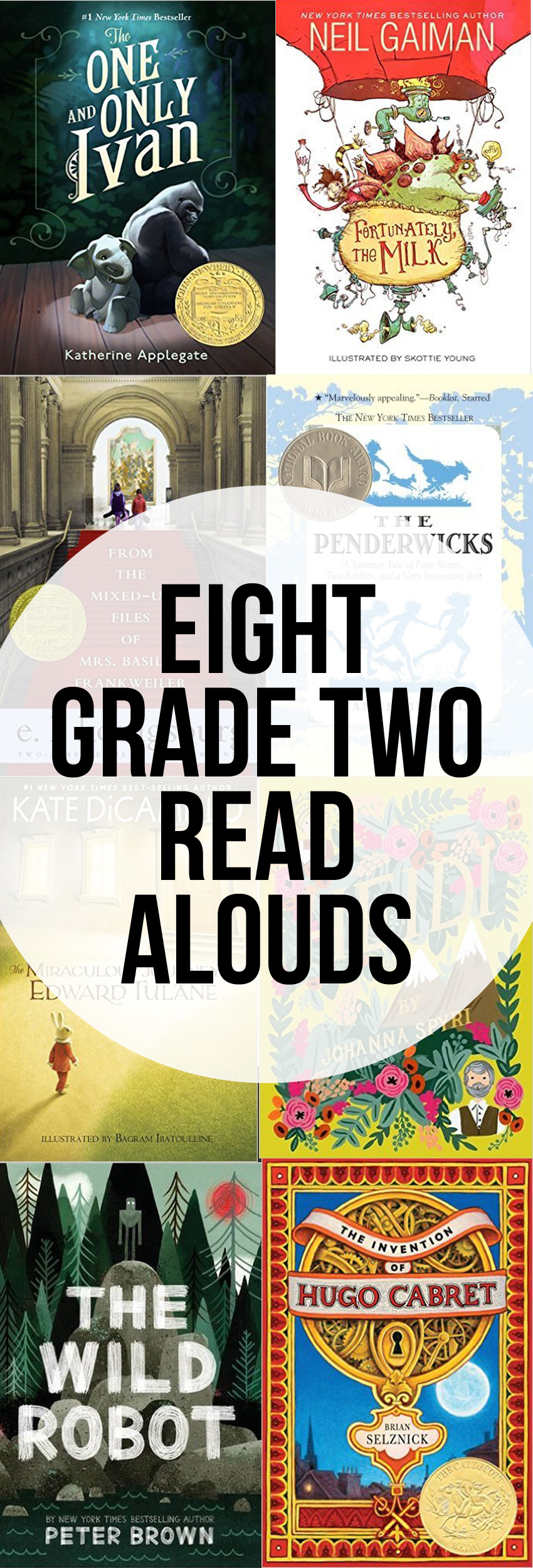 Read Aloud Novels for Grade Two