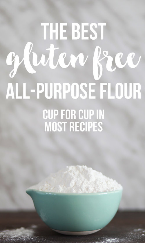 The Best Gluten Free All Purpose Flour- works cup for cup in most recipes!