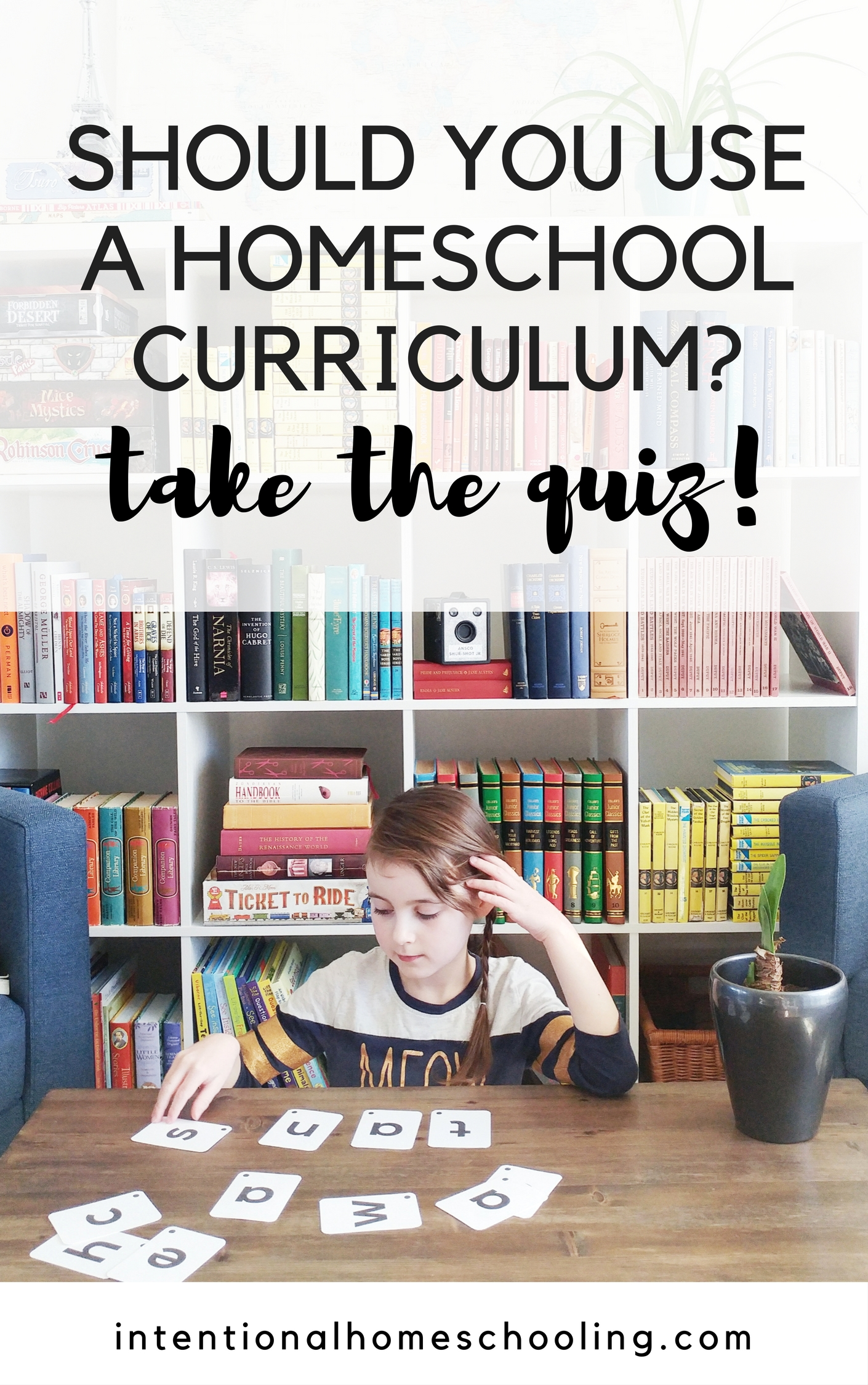 Is Using a Homeschool Curriculum Right for Your Family or Do You Do Better Without a Curriculum or Schedule? Take the quiz to find out!