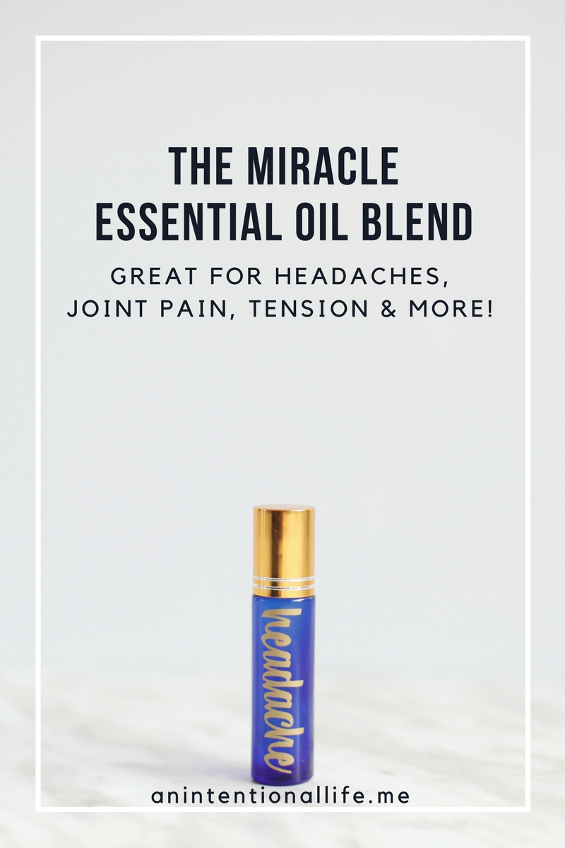 The Best Headache Essential Oil Blend - perfect for roller bottles