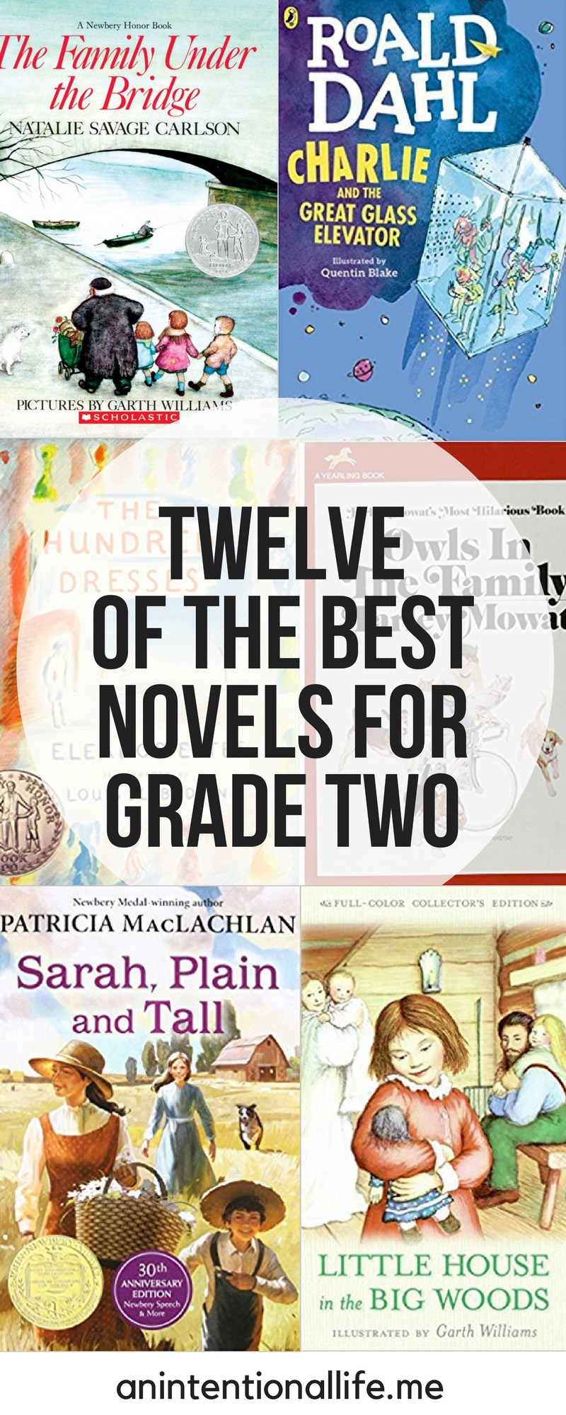 Twelve of the Best Novels for Grade Two