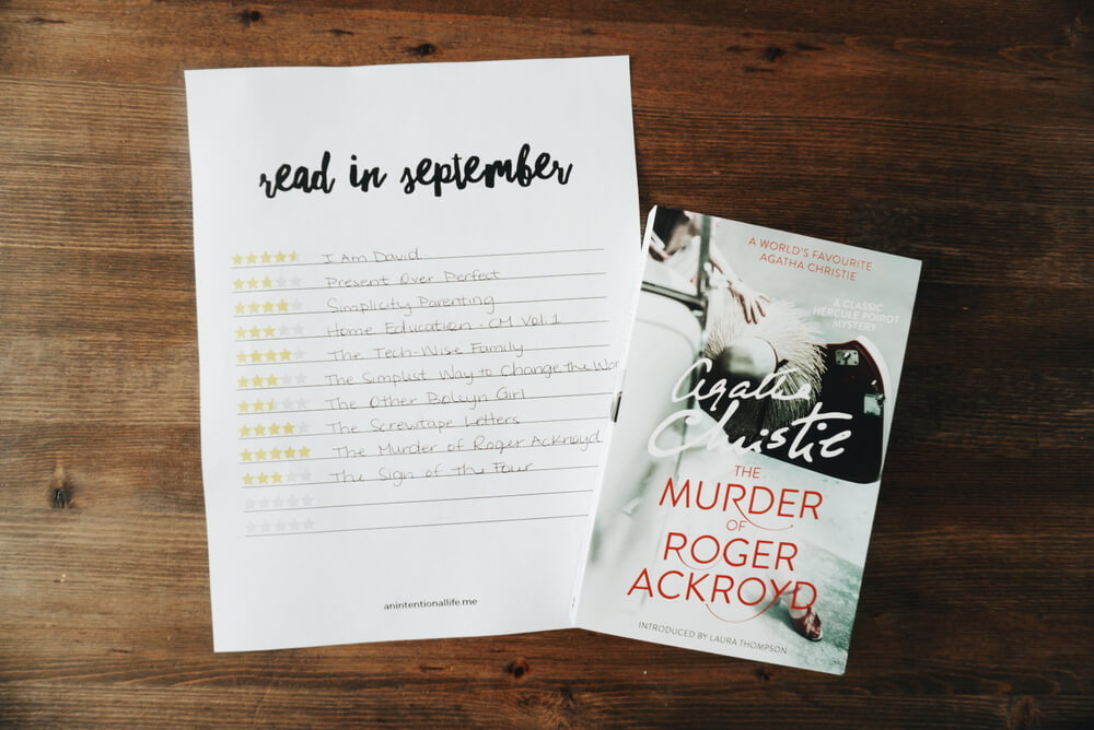 September Reading Wrap Up