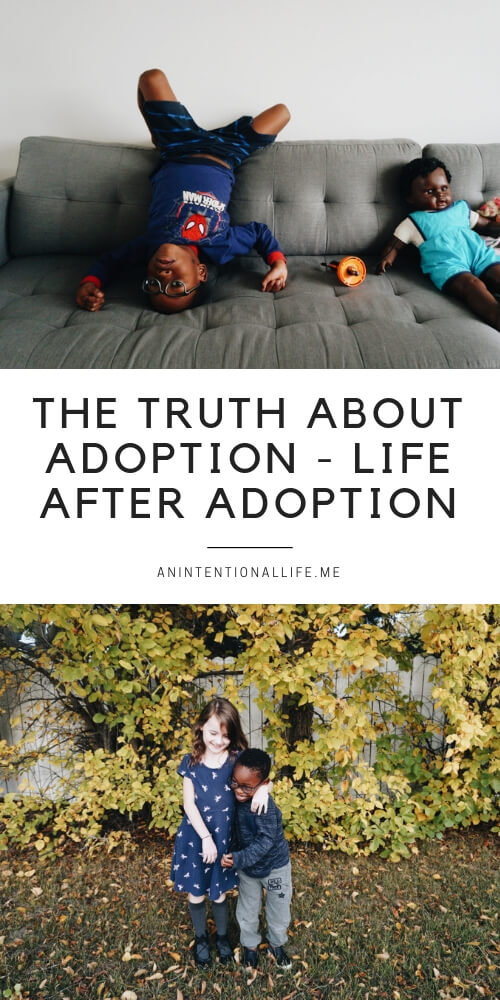 The truth about adoption - life after international adoption