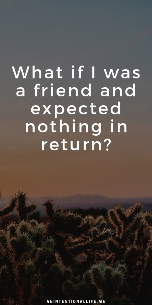What if I was a friend and expected nothing in return? - Lessons from Mark 2