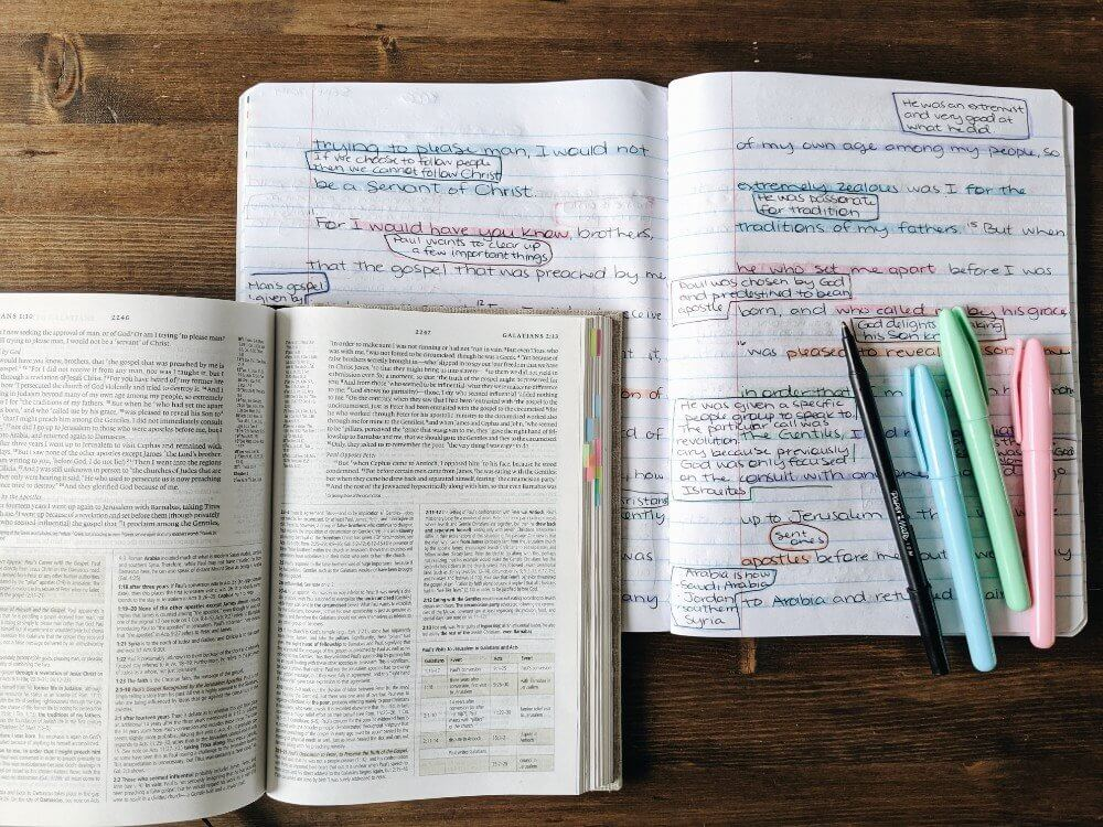The Benefits of Writing out the Bible and a Scripture Writing Plan
