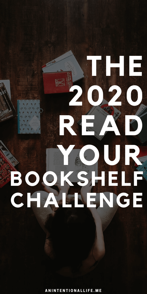 Read Your Bookshelf - A 2020 Reading Challenge