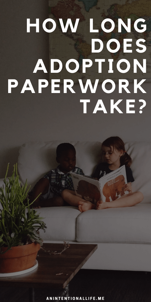 How long does adoption paperwork take?