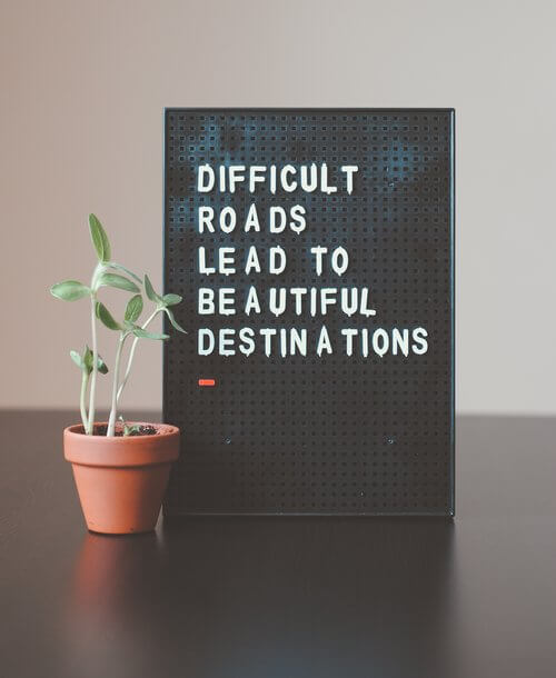 Difficult Roads Lead to Beautiful Destinations - Adventure One Little Word Wrap Up