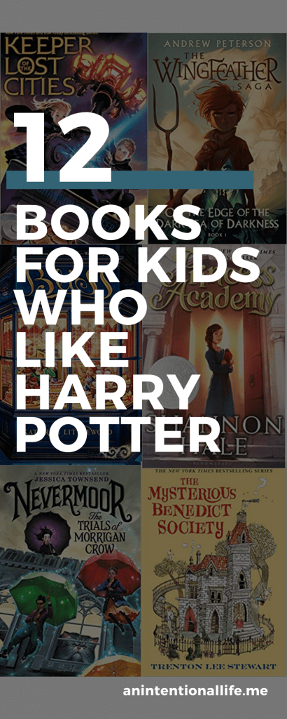 Books for Kids Not Quite Ready for Harry Potter and Kids Looking For Books Similar to Harry Potter