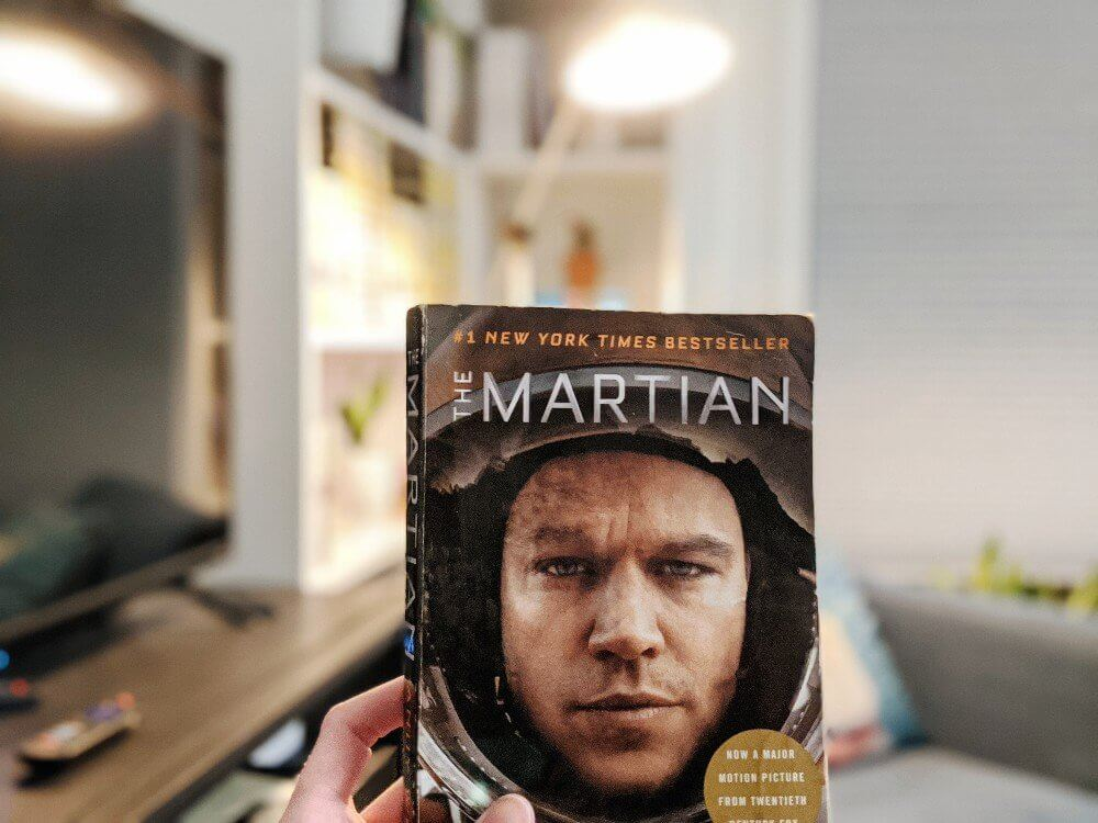 The Martian - February Reading and Inspiration for our Space Unit