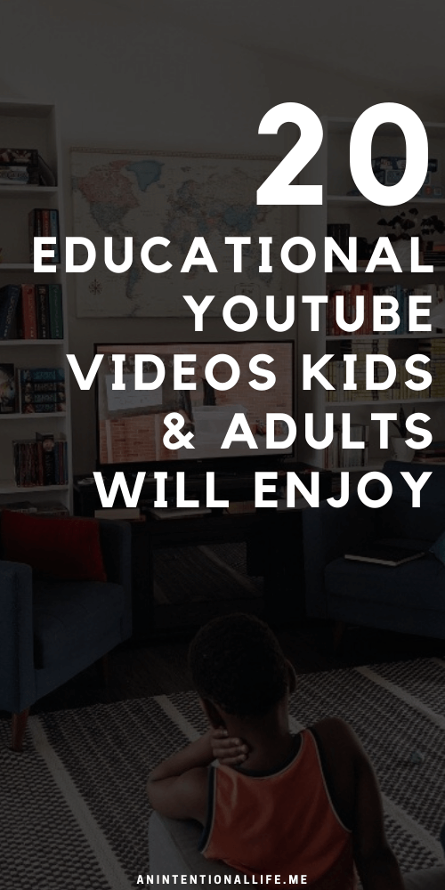 20 Educational (Mostly Science) Videos We've Been Watching in Our Homeschool Lately - Videos Kids and Adults will Enjoy