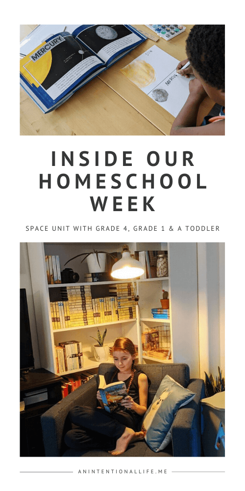 Our Homeschool Week in Review - Books and Resources Used