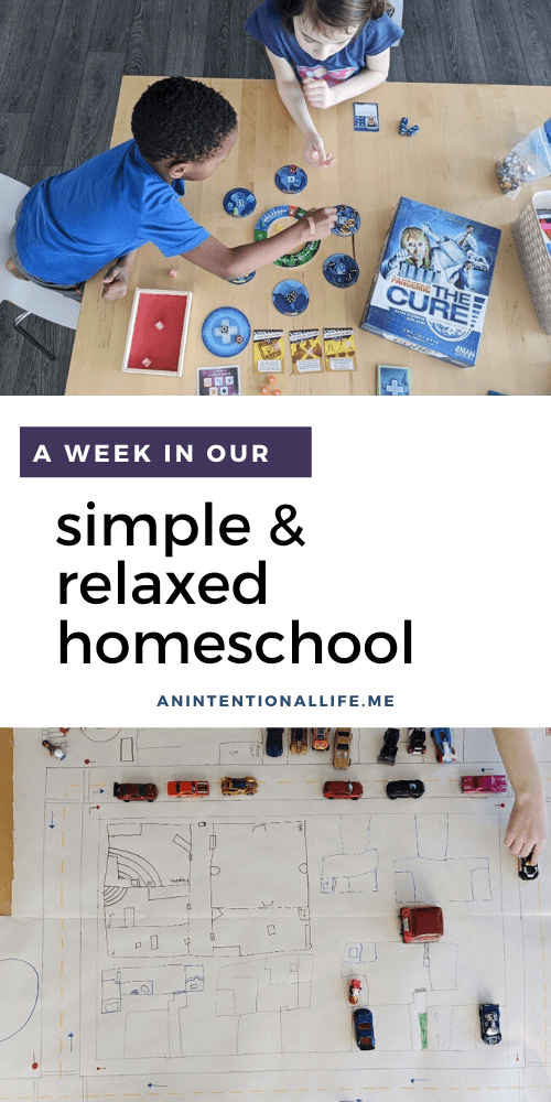 A Look Inside Our Simple Homeschool Week - Unschooling