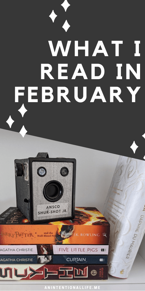 What I Read in February - everything from 0 to 5 stars - mystery, fantasy, science fiction, Christian fiction and more!
