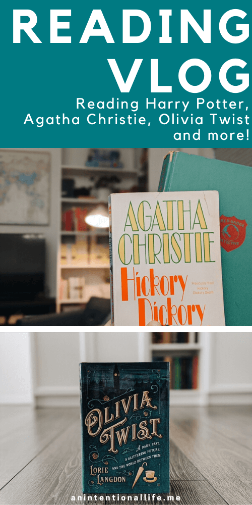 Reading Vlog - Agatha Christie, Olivia Twist, Middle Grade March and more!