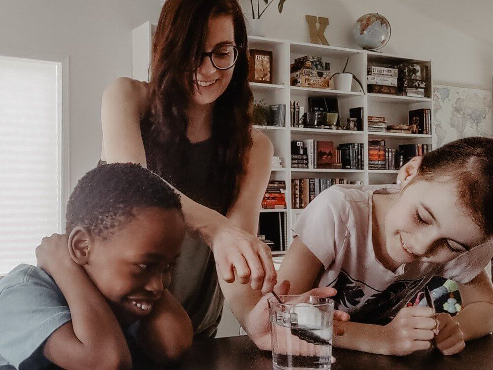 A Day in the Life of a Homeschool & Foster Mom - An Unschooling Day in the Life
