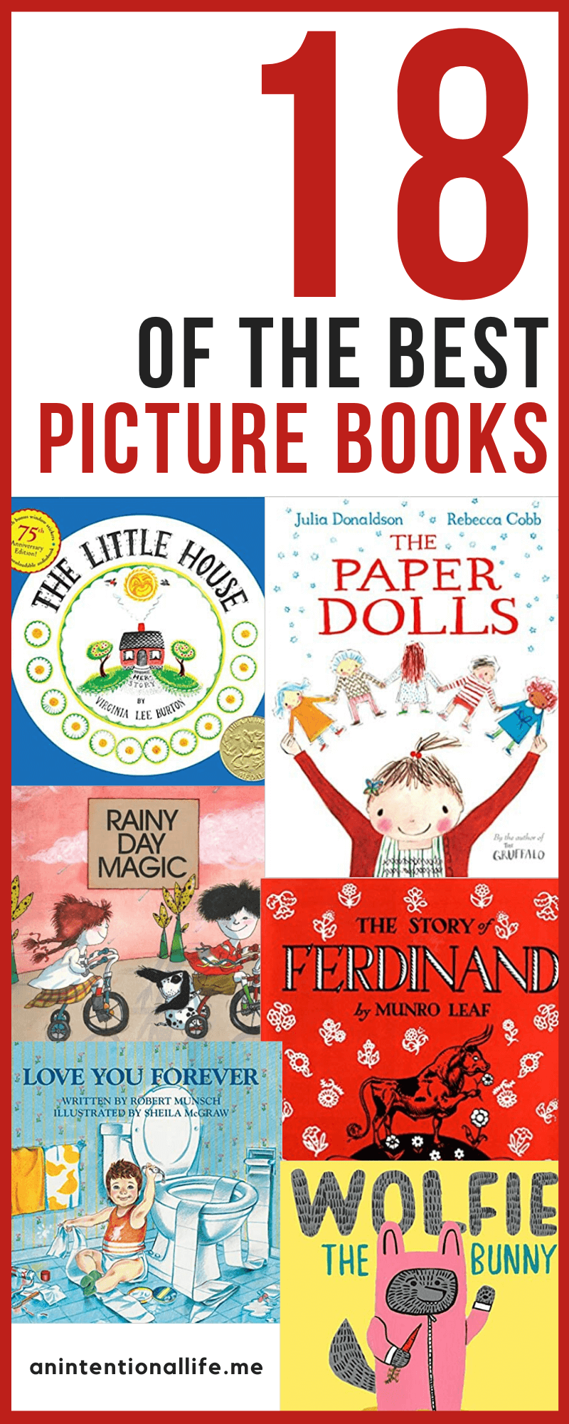OThe Best Picture Books for Toddlers, Preschoolers and School Aged Children