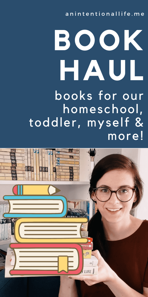 Book Outlet Book Haul - homeschool books, books for the toddler, mystery books, art books and more!