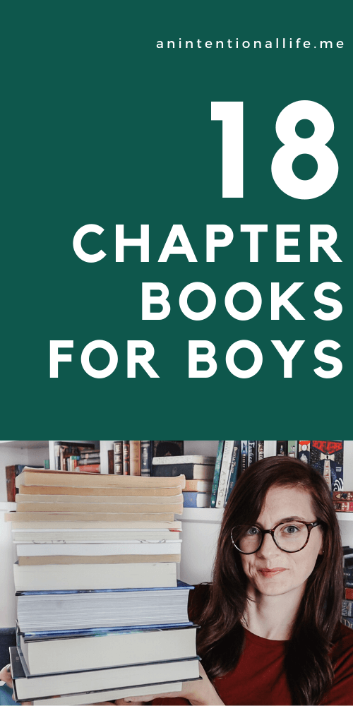 The Best Chapter Books for Boys - Great Novels for Elementary Boys - funny and serious novels for boys