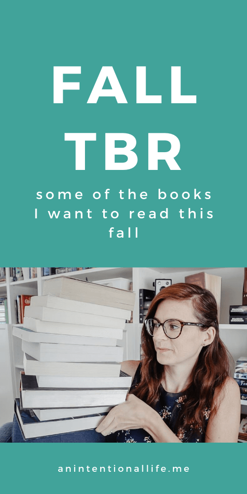 My Fall TBR - I want to read all of these books this fall - Christian fiction, middle grade books, fantasy books and more!