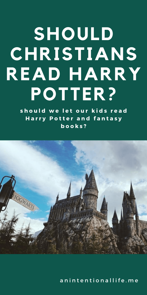 SHOULD CHRISTIANS READ HARRY POTTER? or fantasy in general? should kids read Harry Potter?