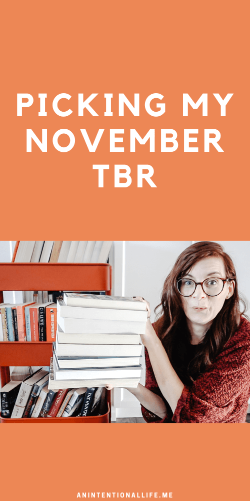 November TBR - all the books I plan on reading in November