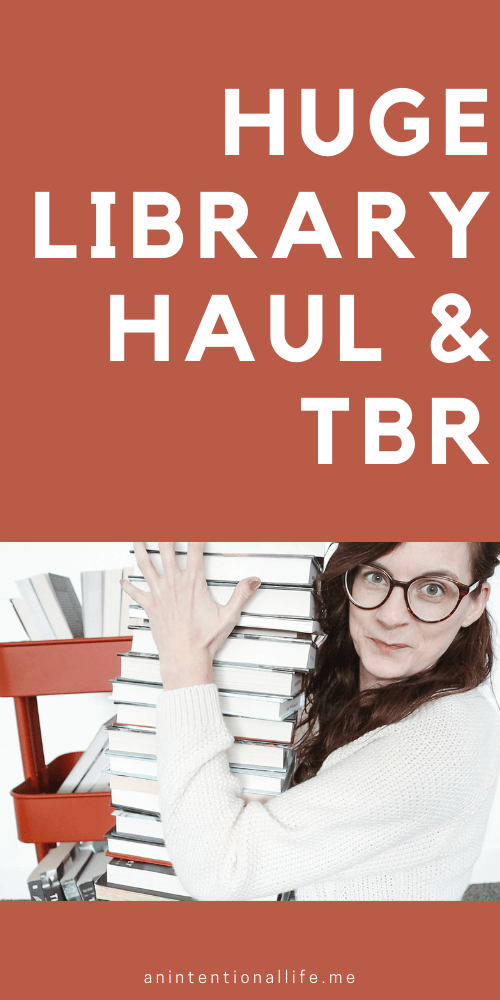 FEBRUARY LIBRARY HAUL & TBR - huge library haul with so many good books I want to read in February, lots of mystery books and middle grade books