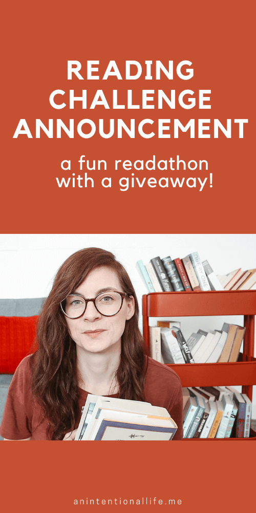 Readathon Announcement - a fun week long reading challenge in 2021