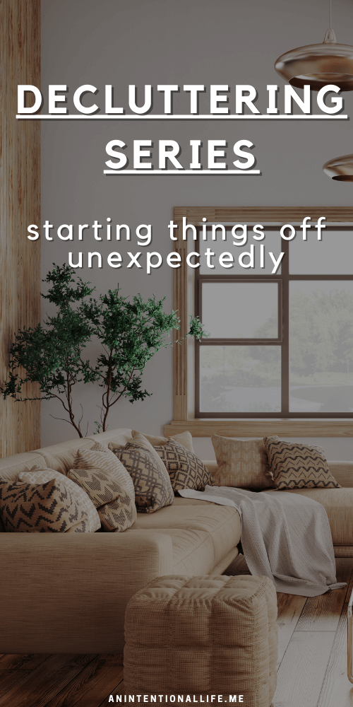 Decluttering Series - starting things off with a social media detox