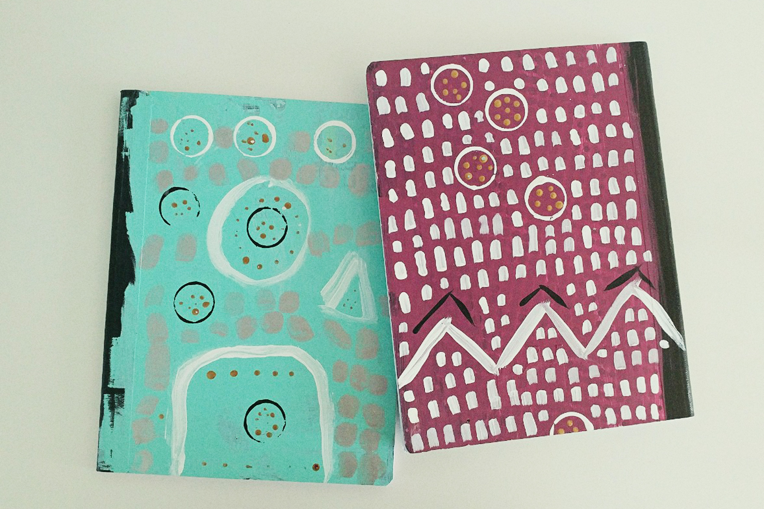 Customized Composition Notebooks for our homeschool work.