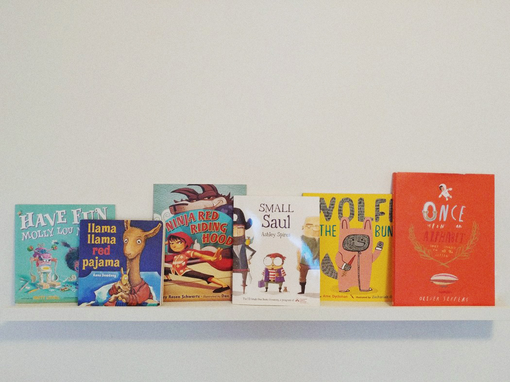 Eight Picture Books to have in your collection.