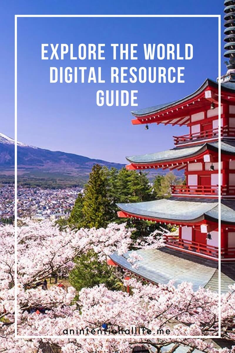Explore the World Digital Resource Guide - All you need for learning about countries around the world, perfect for country unit studies.