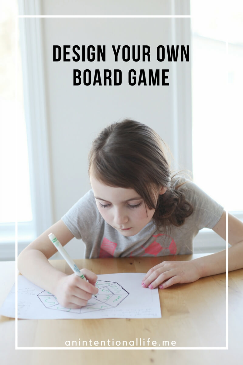 Design Your Own Board Game Course - an excellent resource to use in your home or homeschool!