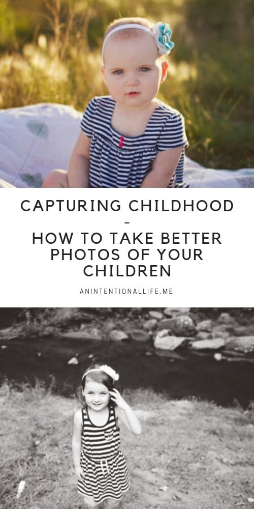 Capturing Childhood - an online photography course that teaches you how to take better photos of your children during their fleeting childhood