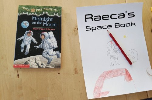 Our Homeschool Week in Review - Space Unit Resources Used