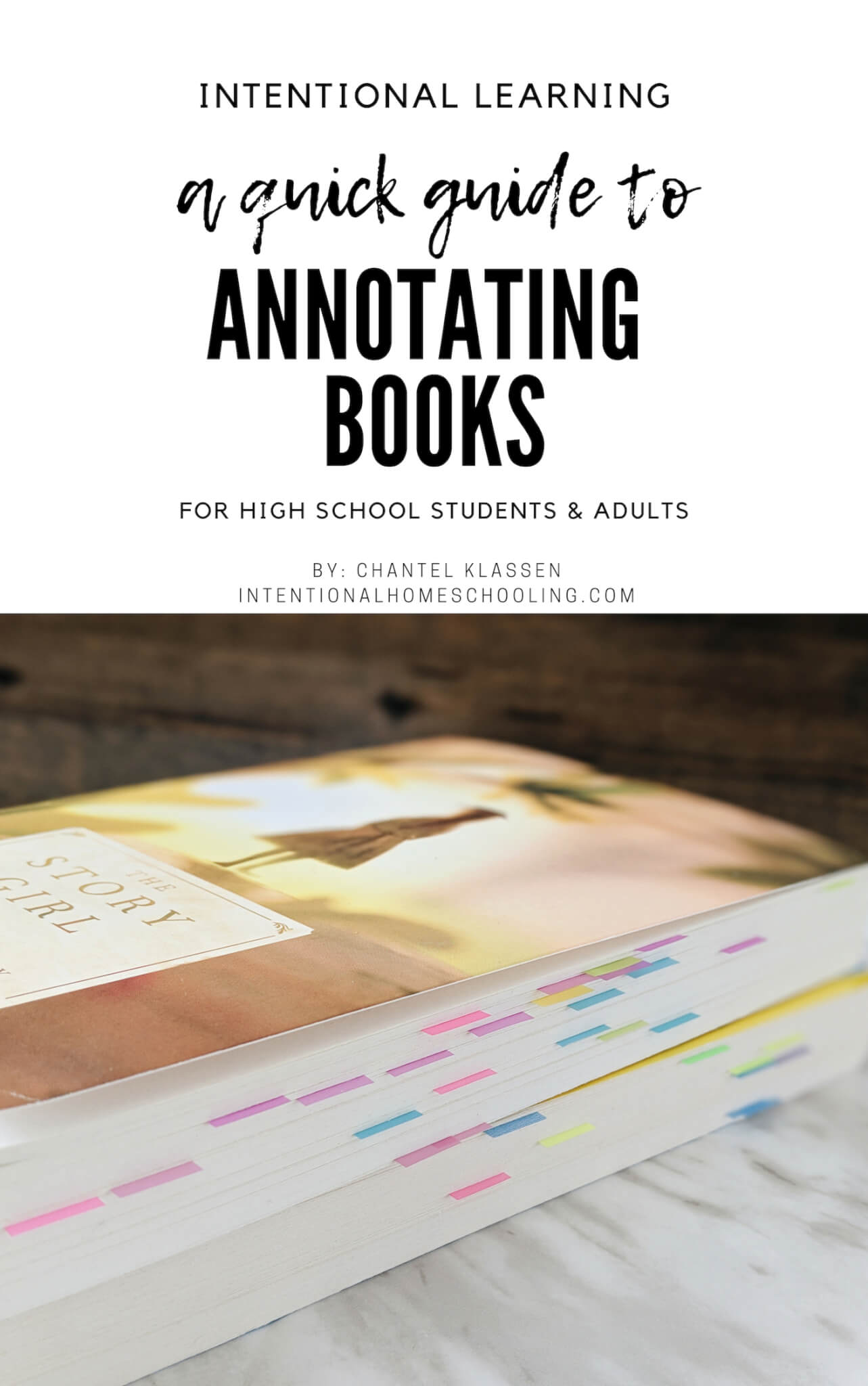 A Quick Guide to Annotating Books for Students and Adults