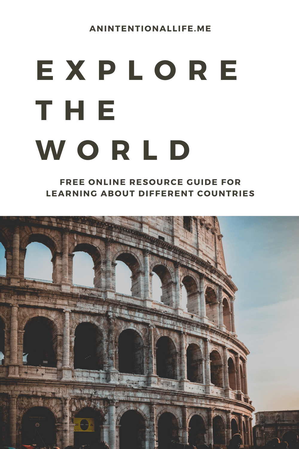 Explore the World - A Free Online Digital Resource Guide to learn about different countries around the world
