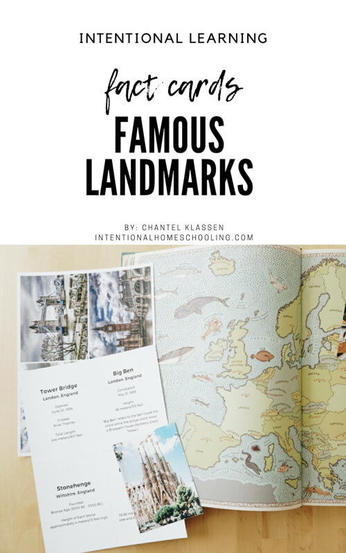 Free Famous European Landmarks Fact Cards