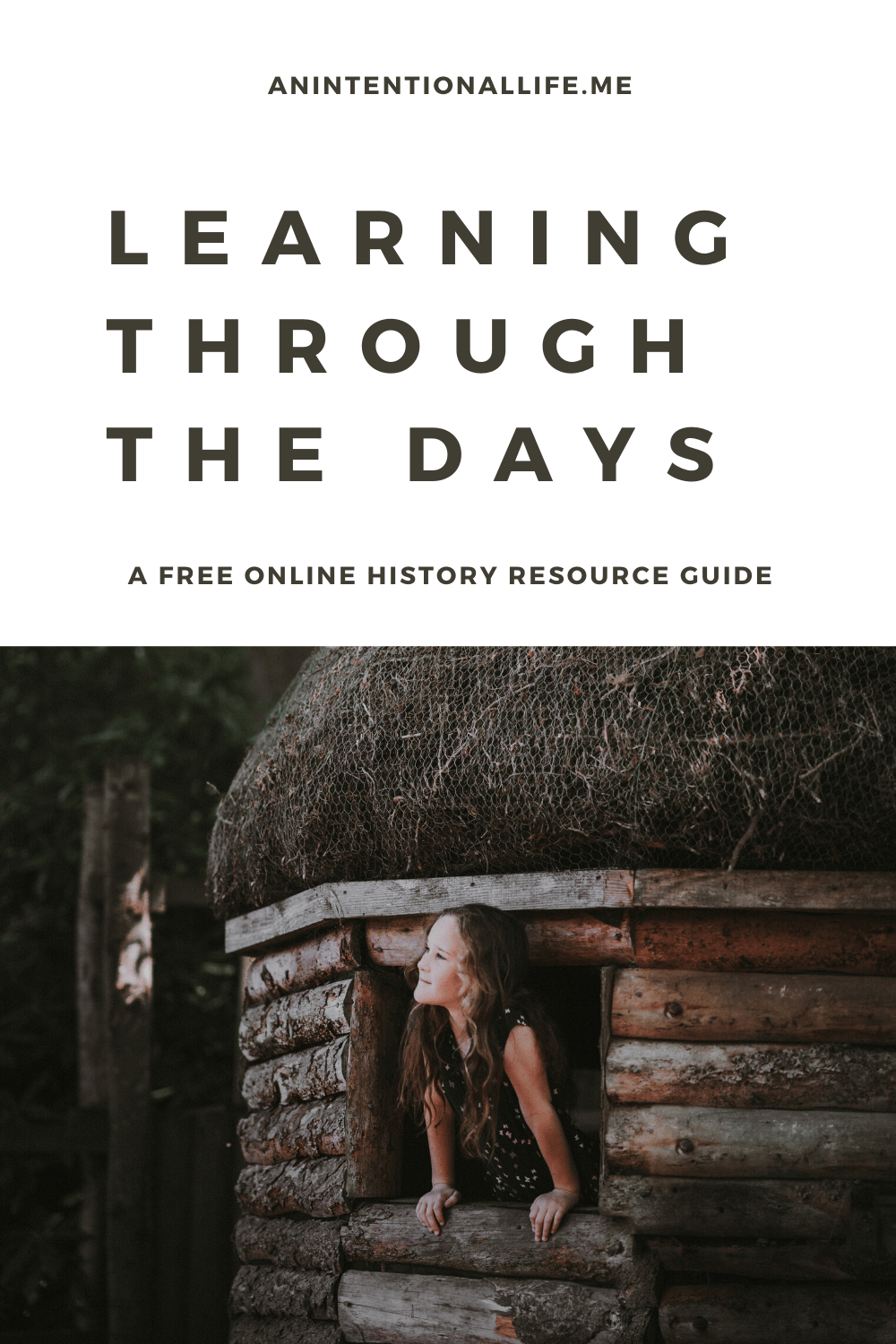 Learning Through the Days - a free online history resource guide