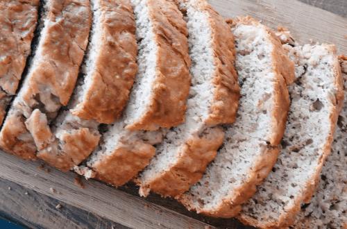Gluten Free Bake With Me - Gluten Free Banana Bread, Dehydrating Herbs and a Gluten Free Sourdough Starter Fail