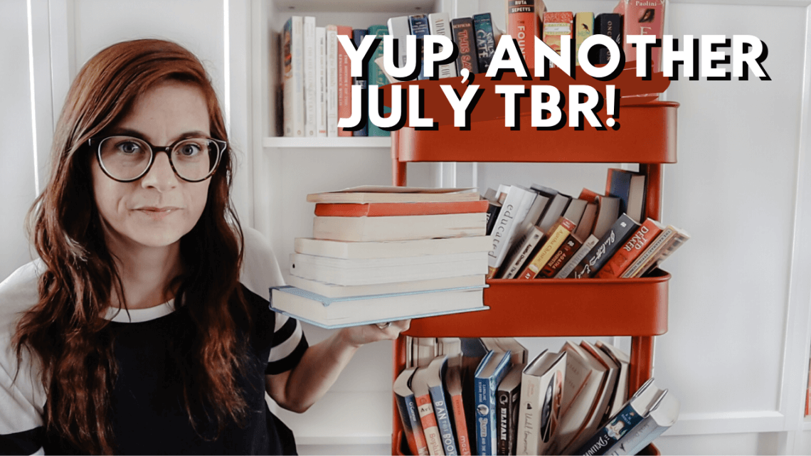 Choosing My Reading Rush 2020 TBR from my TBR cart