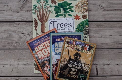 Homeschool Book & Resource Haul: fiction and non-fiction books we'll be using in our homeschool