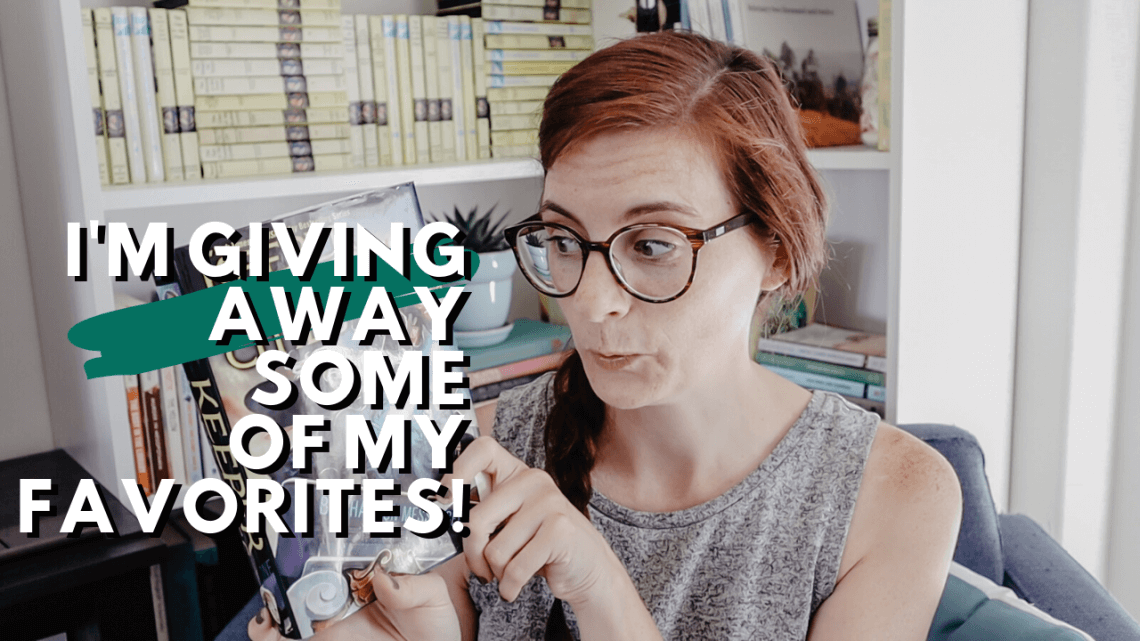 I'm Giving Away some of my favorite books from the last year: Christian non-fiction books, middle grade books, fantasy books and more!