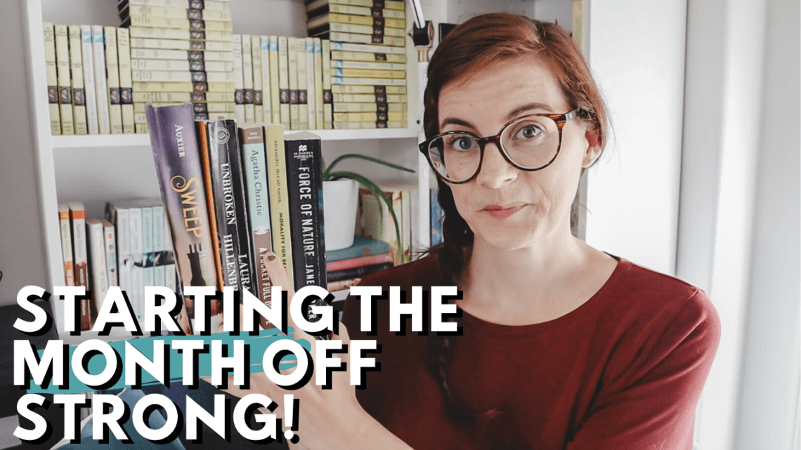July Reading Vlog - Reading Most of My July TBR
