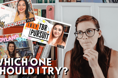 Different TBR Game Ideas - creative ideas on how to choose your monthly TBR